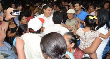 Luis Torres inicia campaña en Chetumal