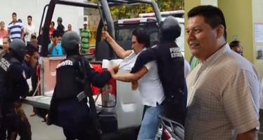 Truena regidor del PRD contra Policía Estatal y subsecretario del PAN