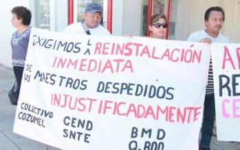 Deja SEyC plantados a maestros despedidos