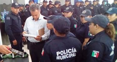 Escasez de policías en el municipio capitalino