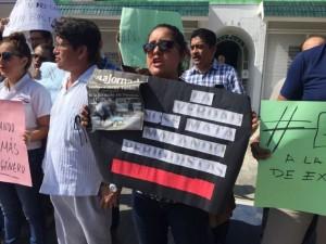 Protesta periodistas1