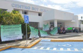 Ejidatarios del sur se manifiestan en oficinas de la SCT en Chetumal